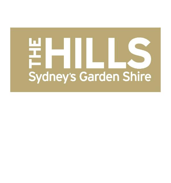 Hills logo olive